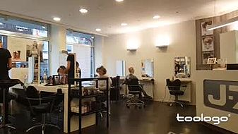 j-7 hairstyling