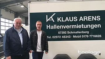 Klaus Arens Hallenvermietung